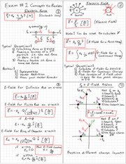P  Exam _1  Concepts to Review