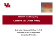 Cloud-Lec11-Other-NoSql