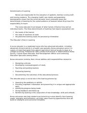 111123363-Determinants-of-Learning.doc