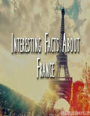 Fun Facts about France.pptx