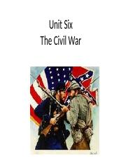 Unit Six Civil War