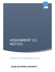 ASSIGNMENT 1 MGT101(1).docx