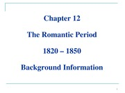 Chapter 12 - Romantic - Background - students