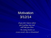 Motivation 3_10_14 POST
