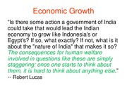 The Model of Economic Growth