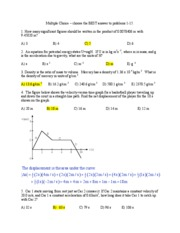 Physics 101 Exam 1 Zane 2008