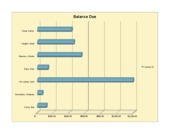 Lab 2-2 Part 1 Jackson's Bright Ideas Monthly balance Report