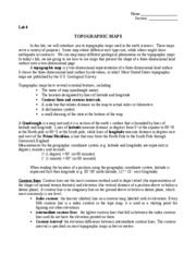 geology lab9 topographic maps Name:_____jessica stacy_____ this assignment is worth 20 points answer the following questions about lab 9: topographic maps type your answers in the space provided, make sure i can clearly read/find your answer.