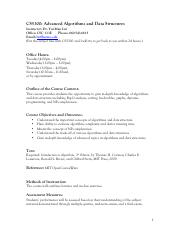 data structures syllabus