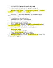 PB HLTH 116 Guest Lecturers notes