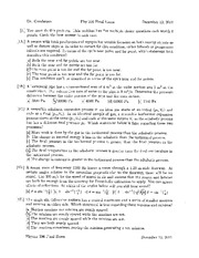 Sample Multiple Choice Exam Questions on University Physics
