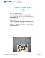 Reflective Journal Folio Instructions (Moodle) (2).docx