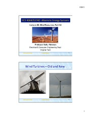 Lecture 2B - Wind Resources Part 1
