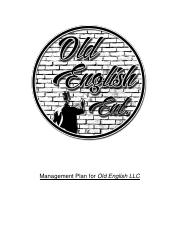 Management Plan for Old English LLC (Man. Class).docx
