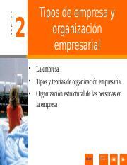 AG04-ORGANIZACION ppt - ORGANIZACIN Por Miguel Herrera www