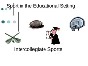 Intercollegiate Sports Powerpoint