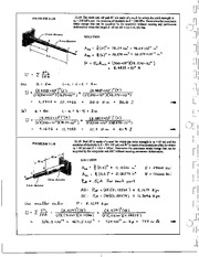 1319_Mechanics Homework Mechanics of Materials Solution