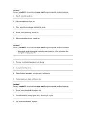 25 Soalan Ayat Aktif Docx Latihan 1 Tukar Ayat Aktif Di Bawah Kepada Ayat Pasif Tanpa Mengubah Maksud Asalnya 1 Farah Menulis Sajak Itu 2 Saya Course Hero