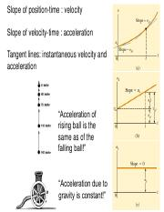 1stLE Lecture 06 - R3 Position, velocity and acceleration in 2D, 3D