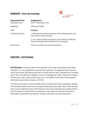 Cost Accounting Case (1) final