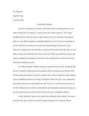 after the flood essay people in different ways for example the  2 pages sanders after the flood essay