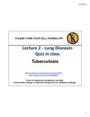 Lecture 3 - Lung Diseases-Tuberculosis - fullpage