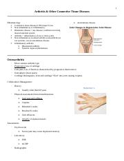 2.5 - Arthritis and Other Connective Tissue Diseases.docx