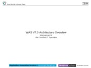 WAS V7 Architecture Overview