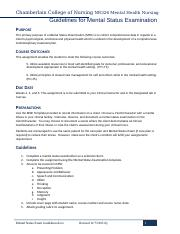 Guidelines for Mental Status Examination_2.docx