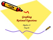 Day 83-Graphing Rational equations