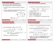 01 Differential Equations (Slides)