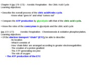 BB lecture 10-23-09 citric acid cy.