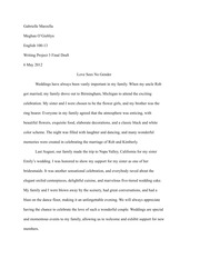 Writing Project 3 - Gay Marriage