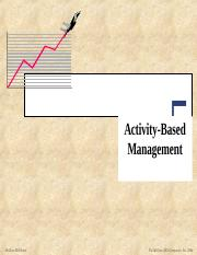 Activity Based Management.ppt
