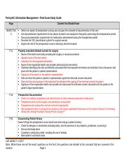 Periop HC Info Mngmt_Final Exam Study Guide.docx