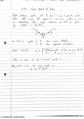 Algebra Scalar Product of Vectors Lecture Notes