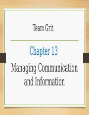 Ch 13 Managing Communication and Information.pptx