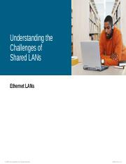 13. Understanding The Challenges Of Shared LANs.pps