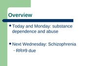 L16 - substance use, f08
