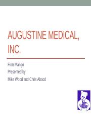 Augustine Medical Inc - Presentation1000.pptx