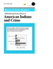 American Indians and crime
