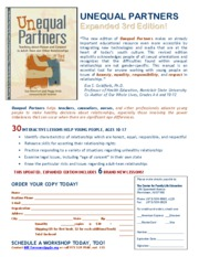 UNEQUAL PARTNERS Third Edition Flyer