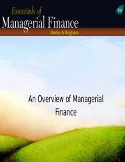 Ch01-ppt-An-overview-of-Managerial-Finance