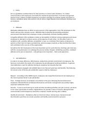 case study arbrecorp ltee