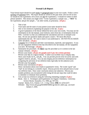 ka lab report The ka and molar mass of a monoprotic weak acid chemistry lab 152 professor: james giles november 7, 2012 abstract: the purpose of this experiment was to determine the pka, ka, and molar mass of an unknown acid (#14.