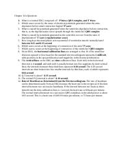 Chapter 11A Questions