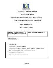 4-M107 -MTA -  Fall  2014-2015 - With Solution.doc