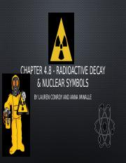 group 8 radioactive decay and nuclear symbols.pptx
