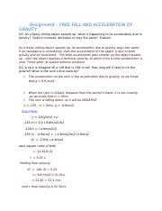 Physics - Document 1