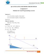 [Qm for Business] - Solution - Homework - Goal & AHP (sub)